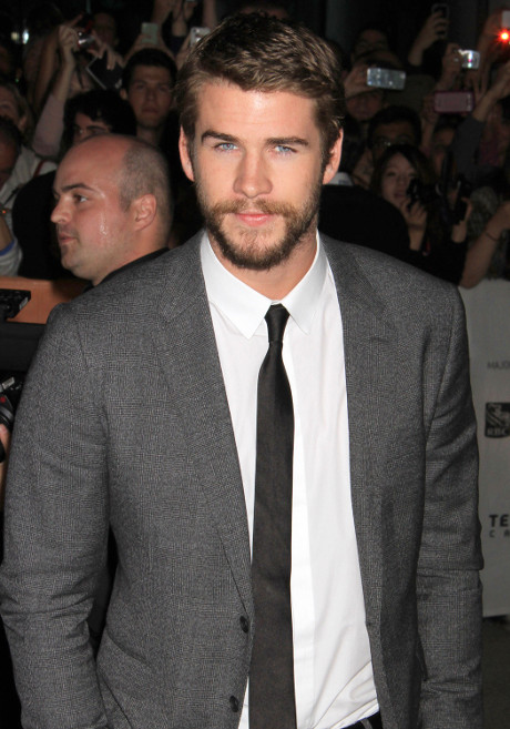 Liam Hemsworth Cheats on Miley Cyrus at Toronto International Film Festival -- Lip Locked with Mysterious Brunette!