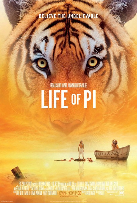 """""""Life of Pi"""" Set to Dazzle the World with its Cinematic Magic and Overwhelming Oscar Buzz!"""