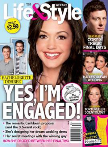 Bachelorette Desiree Hartsock Engaged to Her Winning Man -- Will Their Love Last Forever? (PHOTO)