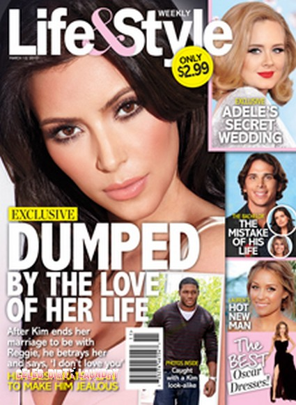 Kim Kardashian Dumped By The Love Of Her Life (Photo)
