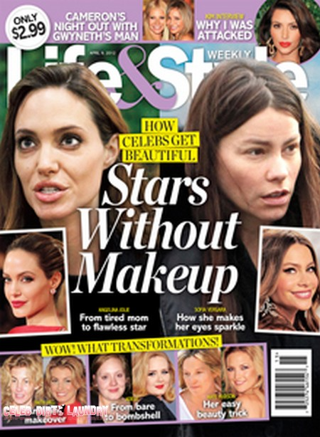 How Celebs Get Beautiful - Stars Without Makeup (Photo)