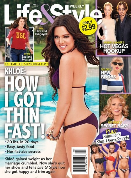 Khloe Kardashian Reveals How She Got Think So Fast (Photo)