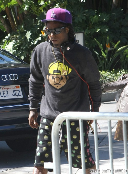 Lil Wayne Tramples American Flag While Recording Music Video - Sizzurp Fueled Rage or Publicity Stunt (Video)