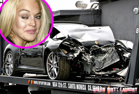 Truck Driver Insists Lindsay Lohan Bribed Him to Lie About Car Crash!