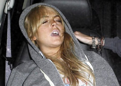Lindsay Lohan Tells Friends She's Done Clubbing Forever
