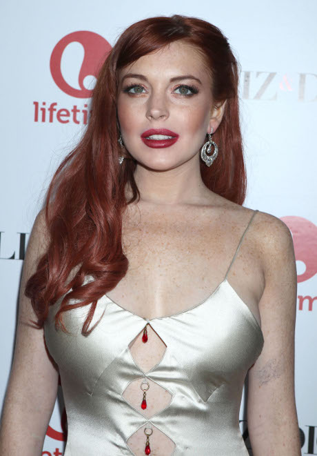 Lindsay Lohan Punches Tiffany Eve Mitchell in a Scrappy Bar Fight Over Max George!