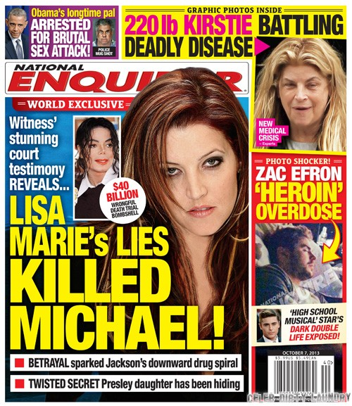 Lisa Marie Presley's Lies and Cheating Drove Michael Jackson to Drugs (PHOTO)