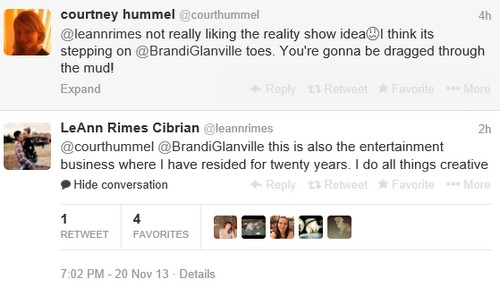 LeAnn Rimes Fashion Disaster and Brandi Glanville Twitter Slap (PHOTOS)