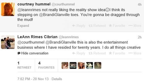 LeAnn Rimes Fashion Disaster and Brandi Glanville Twitter Slap (PHOTOS)
