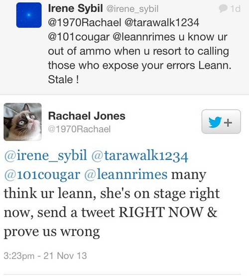 LeAnn Rimes' Fake Twitter Accounts Used To Attack Brandi Glanville Exposed?