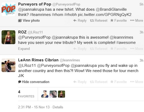 LeAnn Rimes Involved in Brandi Glanville and Joanna Krupa Feud