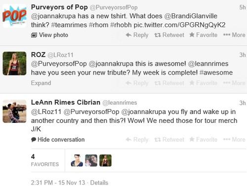 LeAnn Rimes Involved in Brandi Glanville and Joanna Krupa Feud