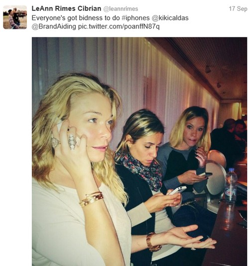 LeAnn Rimes and Eddie Cibrian Already Separated: Case Of The Missing Wedding Ring (PHOTOS)