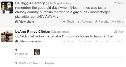 LeAnn Rimes Perpetuates Bullying and Hate Against Dean Sheremet on Twitter