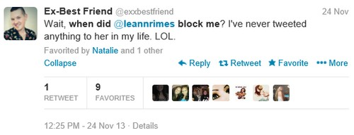 LeAnn Rimes Reveals Herself As A Twitter Stalker: She Blocks Them Then Stalks Them!