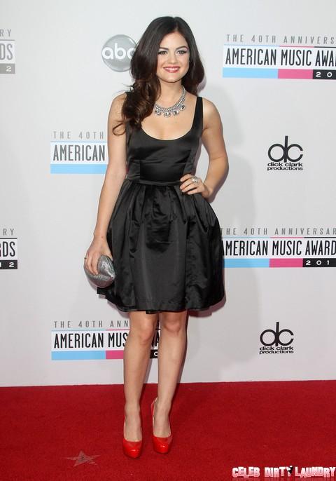 Fifty Shades of Grey: Nina Dobrev Praying Lucy Hale Doesn't Play Anastasia Steele Opposite Ian Somerhalder