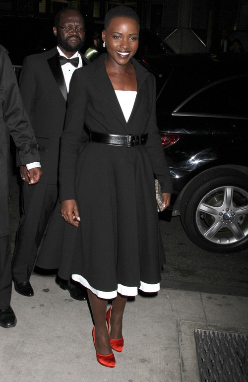 Jennifer Lawrence And Lupita Nyong'o Battling It Out For Best Supporting Actress At 2014 Oscars