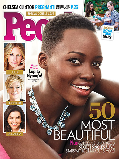 Lupita Nyong'o Named Most Beautiful Woman By People Magazine - See Her Stunning Cover Here! (PHOTO)