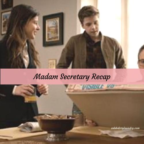 "Madam Secretary Recap 3/26/17: Season 3 Episode 17 ""Convergence"""