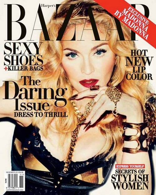 Madonna Raped at Knifepoint: Harper's Bazaar Essay