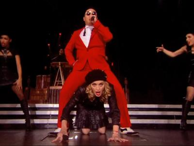 Madonna and Psy Perform Gangnam Style Mash-Up – It's A Horror Story (Video)