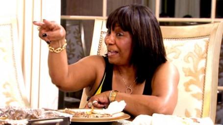 Mama Joyce and Fiance Todd Tucker Love Kandi Burruss FOR HER MONEY - They Admit It! (VIDEO)