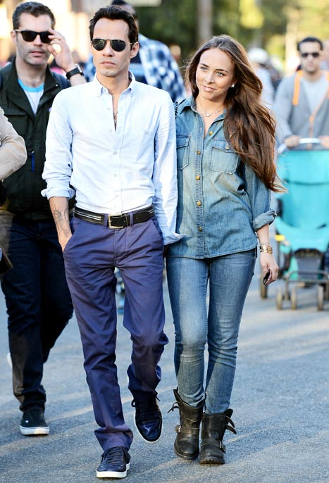 Marc Anthony and Chloe Green Split After Two Months
