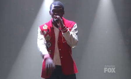Marcus Canty 'Piece Of My Heart' X Factor Performance Video 11/9/11