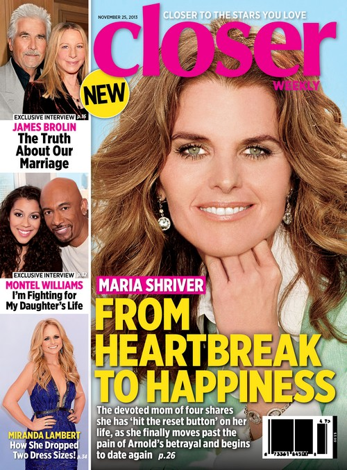 Maria Shriver Discusses Moving On From Arnold Schwarzenegger (PHOTO)