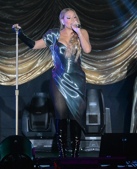 Mariah Carey Performs Live In Taipei
