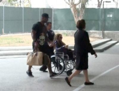 Mariah Carey Was In A Wheelchair [Photos]