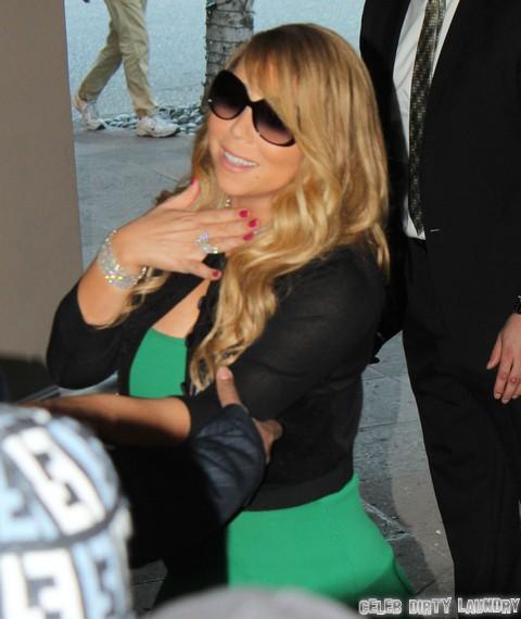 Mariah Carey Nip Slip – Pathetic Diva Stages Nude Scandal To Save Career? (PHOTO)