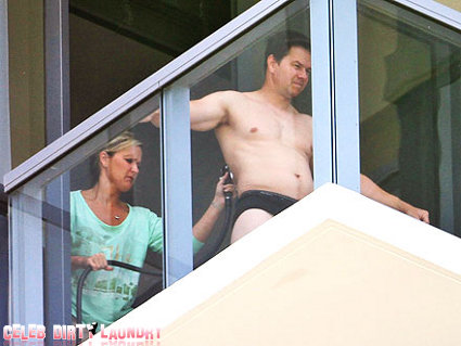 Mark Wahlberg Strips Down To His Undies (Photo)
