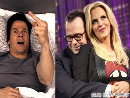 Mark and Donnie Wahlberg at War Over Jenny McCarthy - Mark Says She's Still A Skank