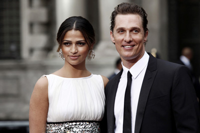 Matthew McConaughey And Camila Alves Get Engaged For Christmas