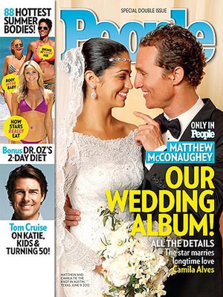 Matthew McConaughey And Camila Alves Wedding Photos Here