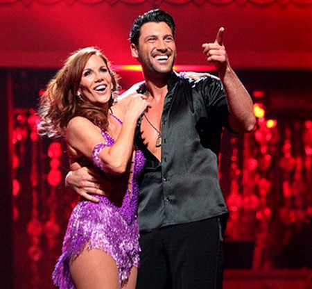 Melissa Gilbert Dancing With The Stars Foxtrot Performance Video 5/7/12