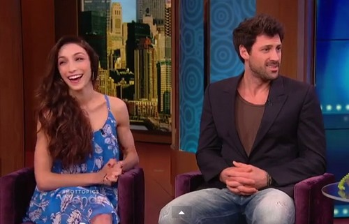 Meryl Davis and Maksim Chmerkovskiy Sex Life Exposed on Wendy Williams Video