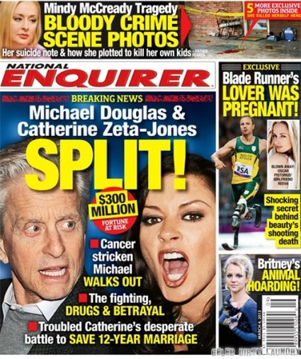 Michael Douglas & Catherine Zeta-Jones Split: Michael Walks Out!