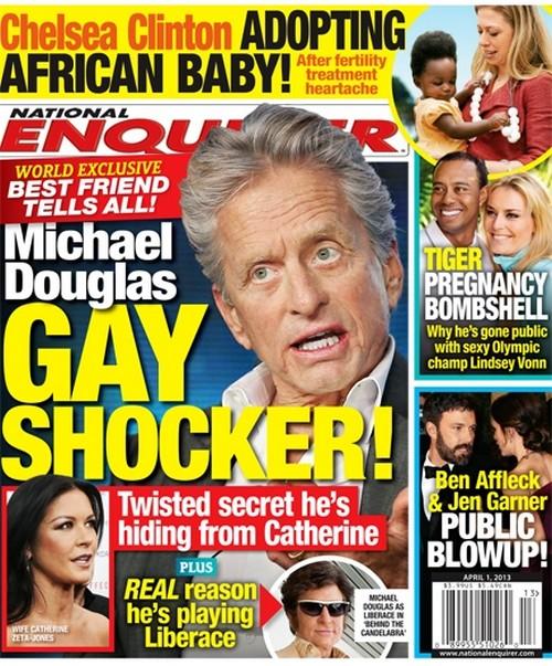 Michael Douglas Gay Lover Bombshell - Best Friend Rats To Catherine Zeta-Jones