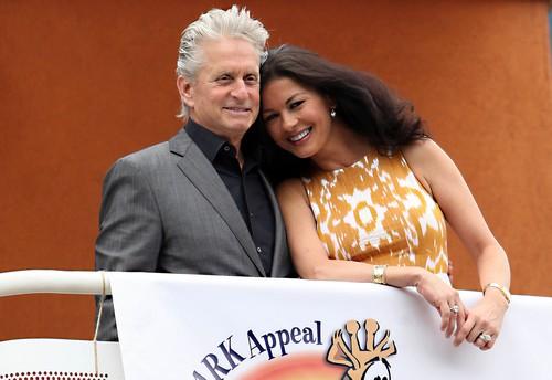 Michael Douglas' Mother Diana Confirms Catherine Zeta-Jones and Mike Back Together