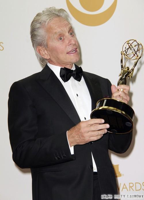 Michael Douglas Discusses Catherine Zeta-Jones Divorce and Separation After Emmy Win - Reveals Status