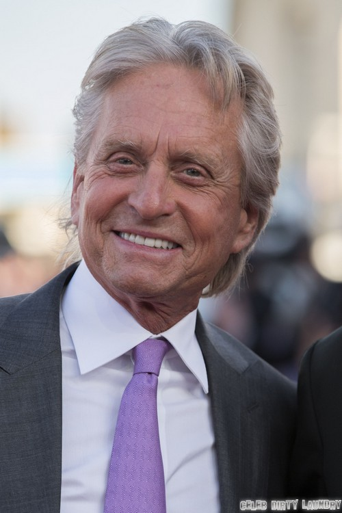 Michael Douglas Dates Hot Brunette While Catherine Zeta-Jones Cries Over Separation