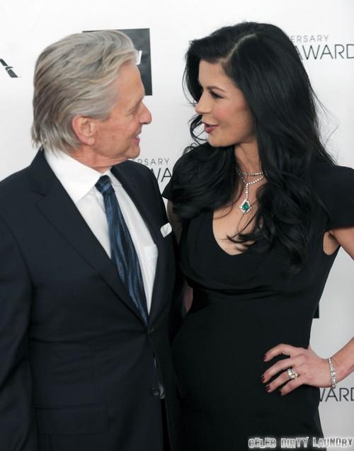Michael Douglas Divorce Moves Forward: Catherine Zeta-Jones Responsible For Throat Cancer