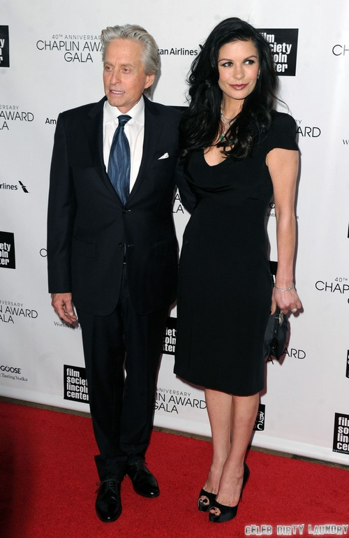 Michael Douglas Proceeds With Divorce Due To Catherine Zeta-Jones Alleged Drinking Problem and Uncontrolled Mental Illness