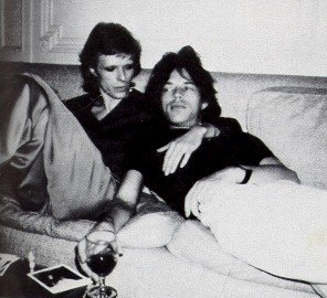 Mick Jagger and David Bowie Naked In Bed Together - Caught By David's Wife Angie Bowie