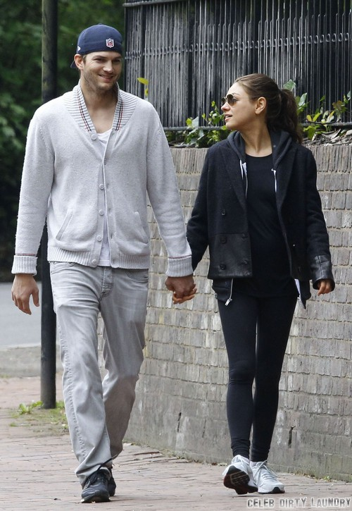 Ashton Kutcher And Mila Kunis Plan a Jewish Wedding - Couple Emotional At Kabbalah Chief Rabbi Philip Berg's Funeral