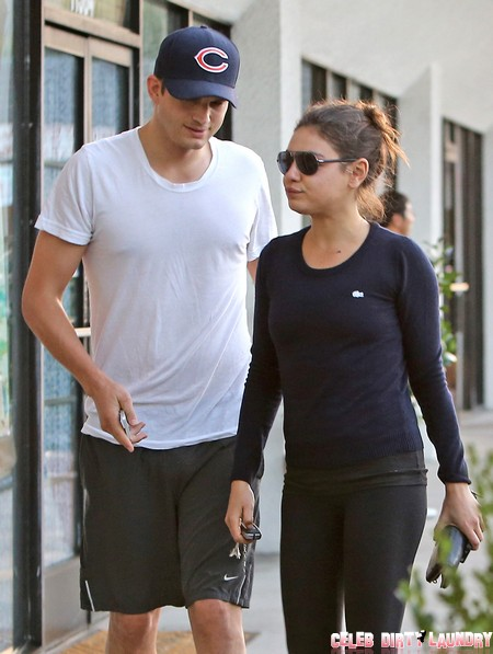 Ashton Kutcher Will Leave Mila Kunis As She's Become Too Fat