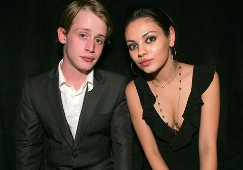 Mila Kunis Cheating On Ashton Kutcher With Macaulay Culkin?