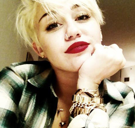 Miley Cyrus Parties Hard and Kisses Girls in New York City!